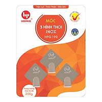 Móc 3 Hình Thoi Inox Hofaco HPG190