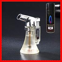 Combo Hộp Quẹt Bật Lửa Khò 1 Tia BK854 Dùng Gas Cao Cấp + Tặng Bình Gas Chuyên Dụng Cho Bật Lửa