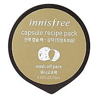 Mặt Nạ Rửa Tăng Cường Dưỡng Ẩm & Làm Mềm Da Từ Khoa Tây Innisfree Capsule Recipe Pack - Potato (10ml)