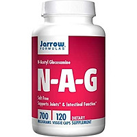 Jarrow Formulas N-A-G 700 mg, Supports Joints & Intestinal Function, 120 Veggie Caps