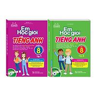 Em học giỏi tiếng Anh lớp 8 - 2 Tập (Tái bản kèm CD)