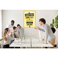 Decal trang  trí Slogan trang trí văn phòng công ty số 29