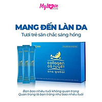 Collagen Cá Tuyết Ona Global Giảm Lão Hóa Da - Da Tươi Trẻ - Săn Chắc - Sáng Hồng, Hộp 30 Gói