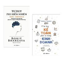 Combo 2 Cuốn Sách Tư Duy - Kỹ Năng Sống hay : Tư Phi Hiển Nhiên + Tư Duy Kế Toán Phải Có Trong Kinh Doanh ( Tặng Kèm Bookmark Thiết Kê)