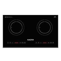 Bếp Điện Từ Đôi Sato SIH267 N1.1 - Hàng chính hãng