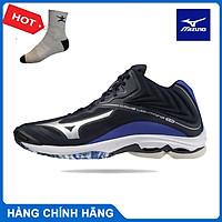 Giày bóng chuyền MIZUNO V1GA200502 WAVE LIGHTNING Z6 MID giày bóng chuyền cầu lông dành cho nam mẫu mới - tặng tất thể thao bendu chính hãng