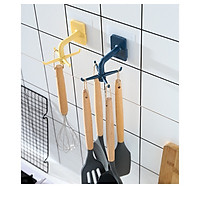 Móc treo muỗng dán tường phòng bếp - móc 4 chân treo giá muỗng