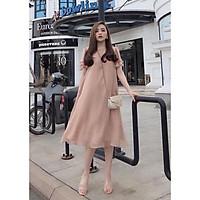 Váy bầu dự tiệc đẹp    váy hồng đất xinh