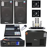 Trọn bộ dàn 4 tấc gia đình KM - 6600 BellPlus (hàng chính hãng)
