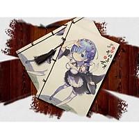 Sổ ghi chép hình nhân vật Re: Zero anime Notebook