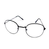 Mắt kính thời trang chống bụi gọng sắt tròn K024 n0bita unisex nam nữ style giả cận, phong cách tri thức, lịch sự