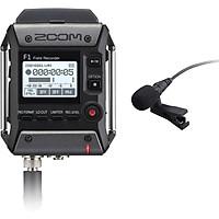 Máy thu âm ZOOM F1 FIELD RECORER + LAVALIER MIC - hàng nhập khẩu