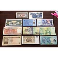 Bộ tiền cổ đầy đủ 11 nước Đông Nam Á
