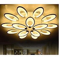 Đèn mâm ốp trần hiện đại 107 Ø850