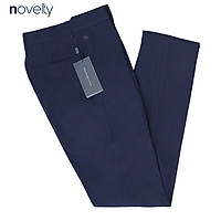 Quần tây nam Novelty 1Ply NQTMMDMT3C1806951 xanh đen