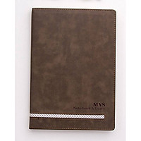 Sổ tay bìa da MXS Notebook and Diary