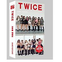 Postcard hộp ảnh Twice mới nhất tặng kèm vòng tay chỉ đỏ