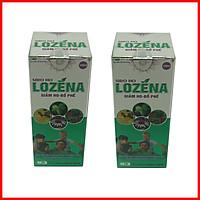 [COMBO 2 HỘP] Siro ho LOZENA chứa cao lá thường xuân, giảm ho cảm, ho gió, họ dị ứng