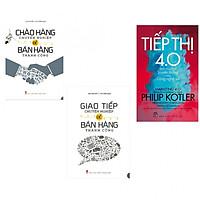 Combo chào hàng chuyên nghiệp để bán hàng thành công+giao tiếp chuyên nghiệp để bán hàng công+tiếp thị 4.0 (bản đặc biệt tặng kèm bookmark AHA)