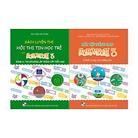 Combo 2 sách Bài tập nâng cao và Luyện thi tin học trẻ cấp Tiểu học với Scratch 3