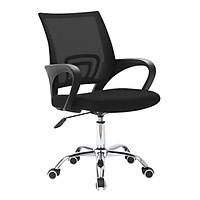 Ghế lưới văn phòng model B01 chân xoay 360 độ cao cấp mẫu mới 2021 (hàng nhập khẩu) BLACK