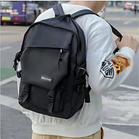 Balo laptop thời trang nam năng động hiện đại cao cấp màu đen chất vải mềm mịn sang trọng trẻ trung Balo ngăn rộng đựng nhiều đồ dệt kim chắc chắn phù hợp đi học đi làm đi chơi picnic
