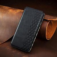 Bao da điện thoại nắp gập có ngăn đựng thẻ cho Oppo A53 A9 2020 A5 A8 A31 A92 A52 Realme C11 C12 C15 X50 X7 Pro