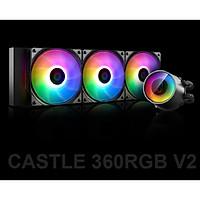 Bộ tản nhiệt cho CPU Deepcool Castle 360RGB V2 - Hàng Chính Hãng