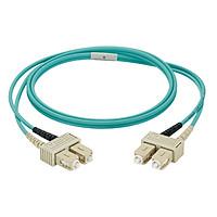 Dây nhảy quang Multi-mode OM3 SC duplex, chiều dài tùy chọn - Mã NKFPX23RSSSM - Hàng chính hãng PANDUIT