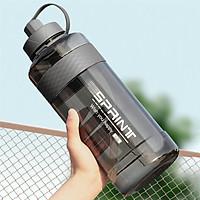 Cốc nước tập gym dung tích 1 lít đầu vòi có tích hợp ống hút - Hàng chính hãng