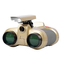 4X30 Binoculars for Kids Toy Binoculars Night Vision Scope Telescope with Pop-up Light Zoom Binoculars Children