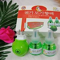 Đèn xông tinh dầu đuổi muỗi Hàn Quốc-Tặng kèm 2 lọ tinh dầu
