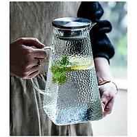 Bình đựng nước thủy tinh crystan hoa văn