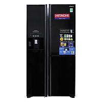 Tủ Lạnh Side By Side Inverter Hitachi R-M700GPGV2-GBK (584L) - Đen - Hàng chính hãng