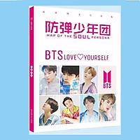 Album ảnh photobook A4 BTS Map Of The Soul Persona tặng kèm sticker BTS/BT21