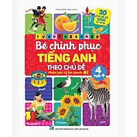 Sách - Bé Chinh Phục Tiếng Anh - Phiên Bản Âm Thanh (Giúp bé học tốt tiếng anh mỗi ngày)