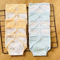 Set 10 Tã Vải Sơ Sinh cotton TOMTOM BABY | Size 1,2,3 cho bé sơ sinh -9kg | Chất vải cotton mềm, mịn, thoáng khí