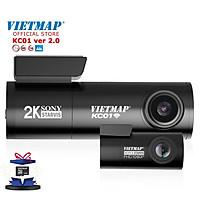 VIETMAP KC01 v.2 Camera hành trình Cảnh Báo Giao Thông ver 2.0 Cảm biến 2K Starvis