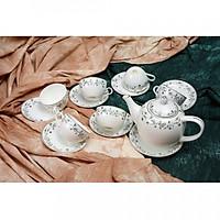 Bộ tách trà Sứ Xương 14 món 145