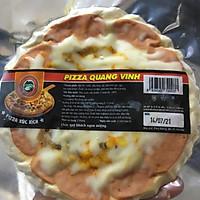 pizza xúc xích QUANG VINH 18cm