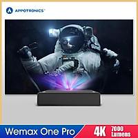 Wemax One Pro FMWS02C 4K Laser Projector 7000 Lumens 150inch Image UST Ultra Short Throw HDR 3000:1 ALPD 3.0 DLP Cinema
