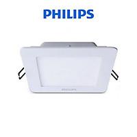Bộ đèn PHILIPS âm trần vuông DN024B 10W LED6 D100