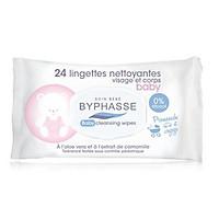 Khăn ướt tẩy trang Byphasse và dùng cho trẻ em ( 24 Miếng)