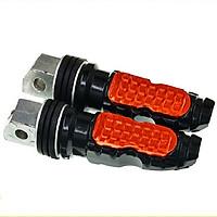 Bộ 2 cái pát gắn gác chân rider hợp kim dành cho các dòng xe honda, xe đạp, xe điện, mô tô, xe máy exciter, AB, SH, vision, lead,…phong cách_MB06-PGC