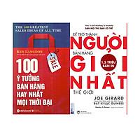 Bộ Sách Bí Quyết Trở Thành Người Bán Hàng Hay Nhất Mọi Thời Đại ( 100 Ý Tưởng Bán Hàng Hay Nhất Mọi Thời Đại + Để Trở Thành Người Bán Hàng Giỏi Nhất Thế Giới ) Tặng Bookmark Tuyệt Đẹp