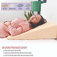 Gối chống trào ngược dạ dày người lớn AIRU kích thước 65x60x18cm- chống trào ngược, ợ chua, ợ hơi, khó thở, ngáy, viêm họng mãn tính