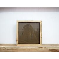 Khung hình gỗ thông mặt kính - Size 20x20cm khổ vuông