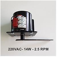 Motor đảo trứng giảm tốc 220VAC - Tốc độ 2.5RPM (vòng/phút)