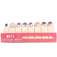 Sticker mark BTS dán lịch, dán ghi chú