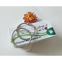 100 thẻ flashcard kích thước 3,5x8 cm vuông (không bo) học từ vựng tiếng anh, nhật, hàn, trung